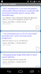PubMed Mobile - screenshot thumbnail