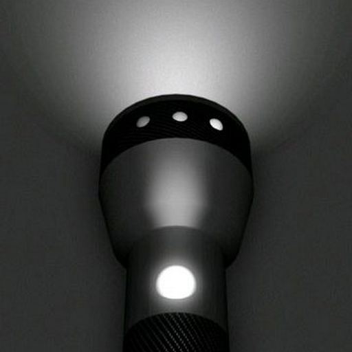Сумасшедший фонарик Яркий