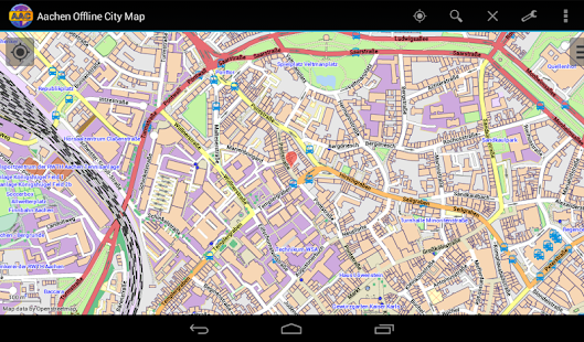 Aachen Offline City Map- screenshot thumbnail