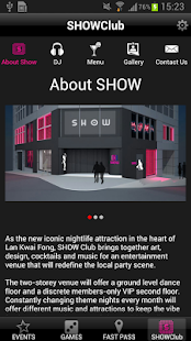SHOWclubhk- screenshot thumbnail