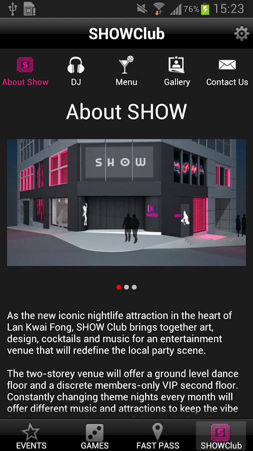SHOWclubhk- screenshot