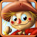 القش ركوب - مزرعة لعبة يوم icon
