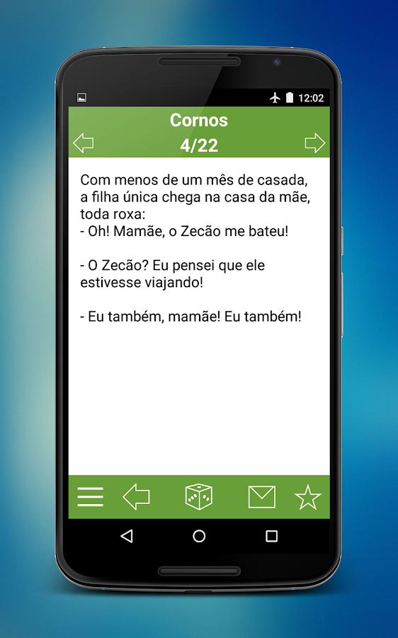 Piadas Brasil - screenshot