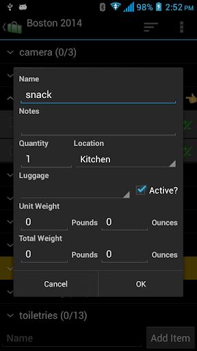 【免費旅遊App】Packing List-APP點子