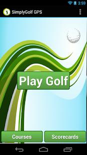 SimplyGolf - Free Golf GPS