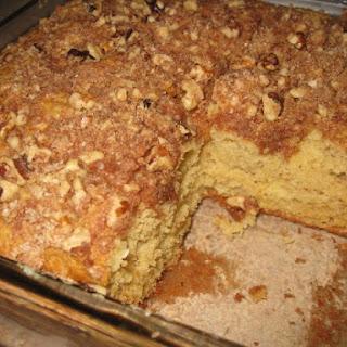 Applesauce Coffee Cake