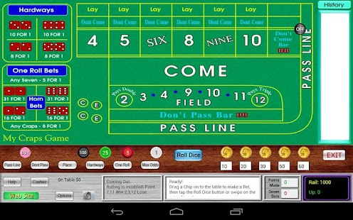 My Craps Game for Nexus 7 - screenshot thumbnail