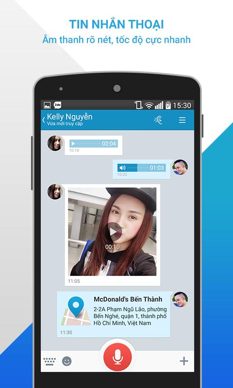 Zalo - Nhắn gửi yêu thương- screenshot