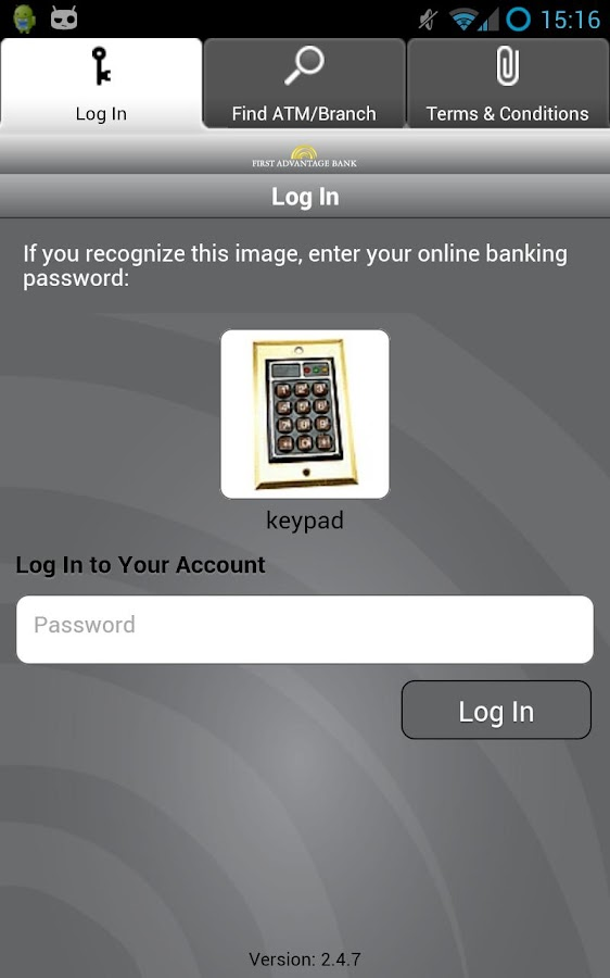 First Advantage Bank Mobile - screenshot