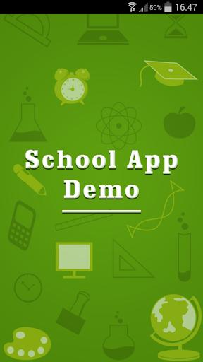 Demo School App