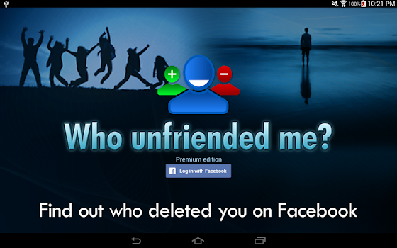 Who unfriended me?