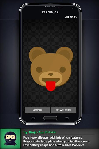 Cartoon Bear Fun LWP