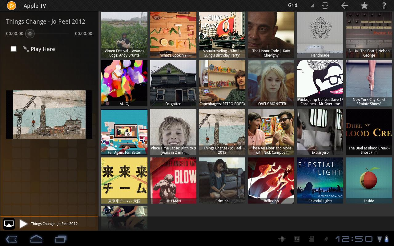 PlayTo Samsung TV- screenshot