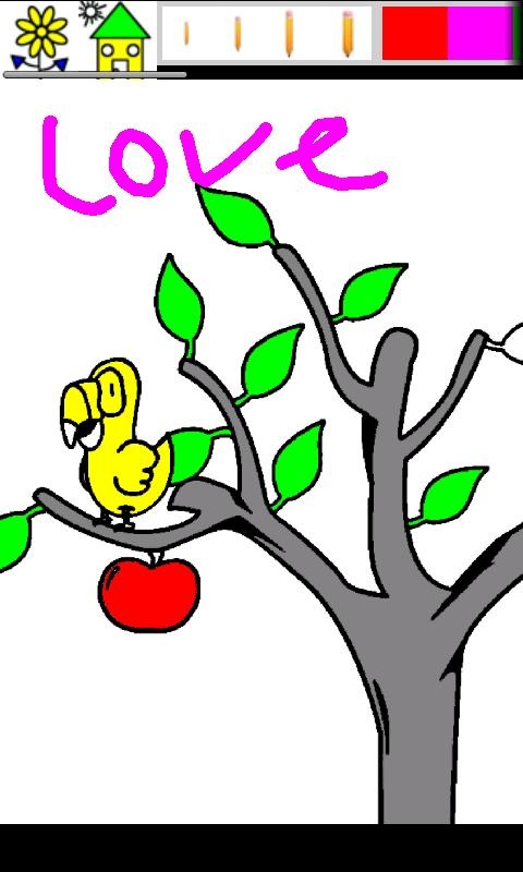 kid paint coloring for tablet screenshot - Paint Coloring