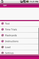 Screenshot of Test Review Cosmetology