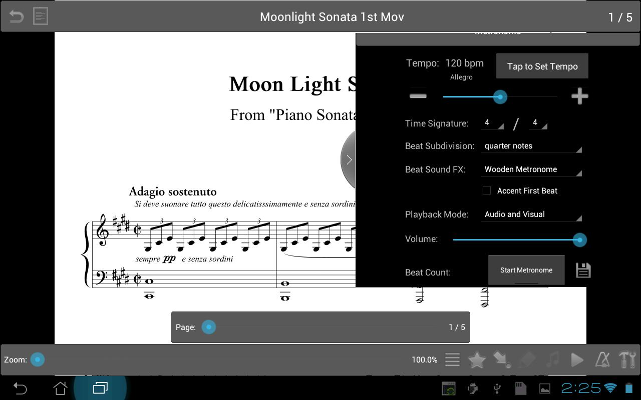 MobileSheetsFree Music Reader - screenshot
