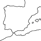 Mapa de provincias de España icon