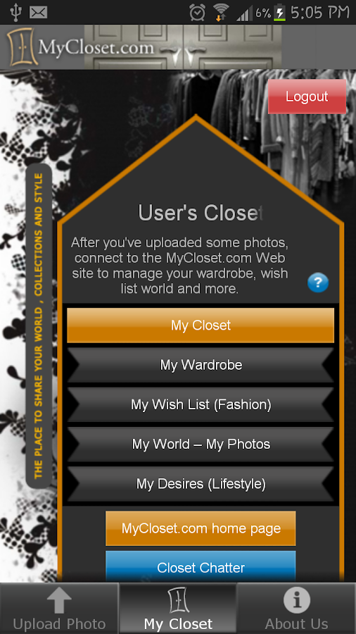MyCloset.com Mobile Assistant- screenshot