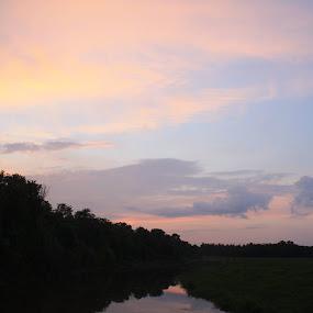 fishing hole by Massie Reep - Landscapes Sunsets & Sunrises