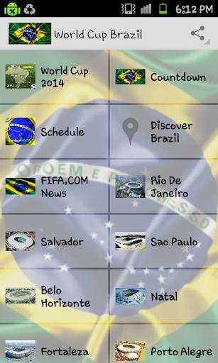 World Cup Brazil Tourist Guide