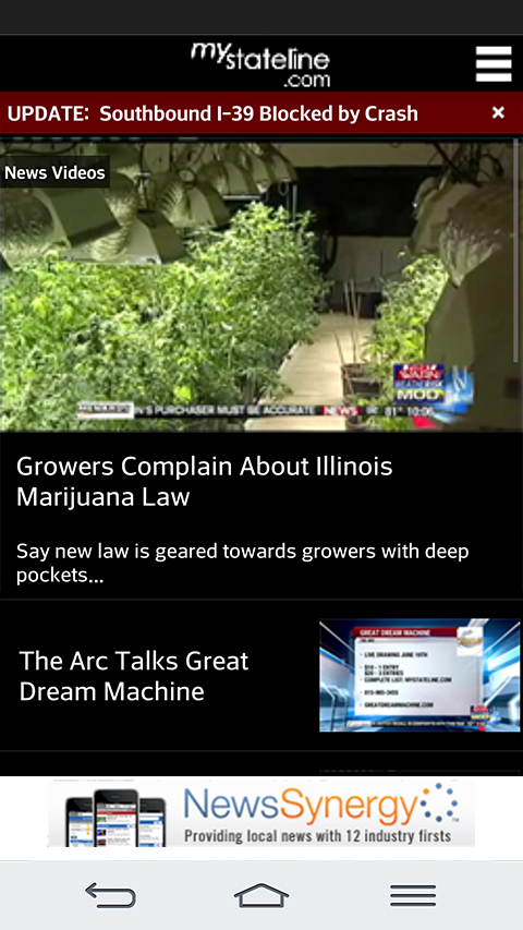 MyStateline - screenshot