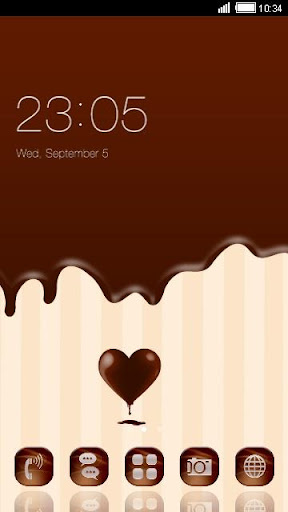 Chocolate C Launcher Theme