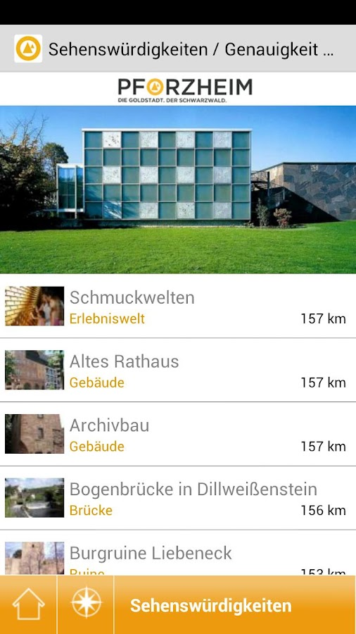Pforzheim Guide - screenshot