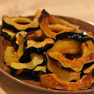 Vanilla and Cardamom-Glazed Acorn Squash Rings.