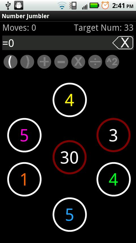 Number Jumbler - screenshot