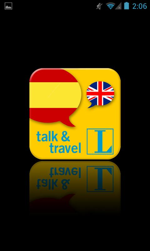 Spanish talk&travel- screenshot