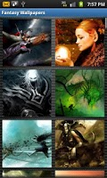 Screenshot of Fantasy Wallpapers HD