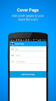 Screenshot of MobileFax
