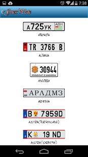 Guess License Plate - screenshot thumbnail
