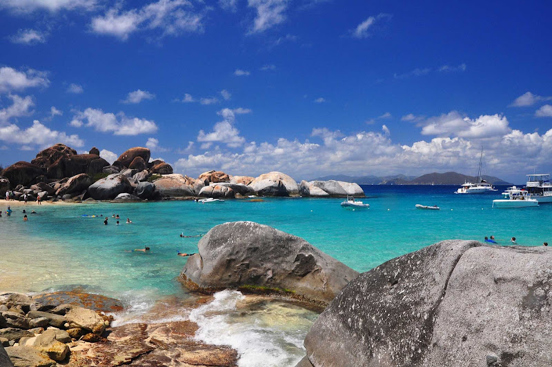 The Baths on Punta Gorda in the British Virgin Islands.