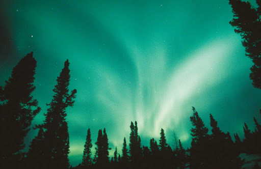 Northern-Lights-Quebec - The Northern Lights dazzle during a night in Baie-James (James Baie), Quebec, Canada.