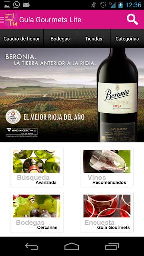 Guía Vinos Gourmets 2014 Lite