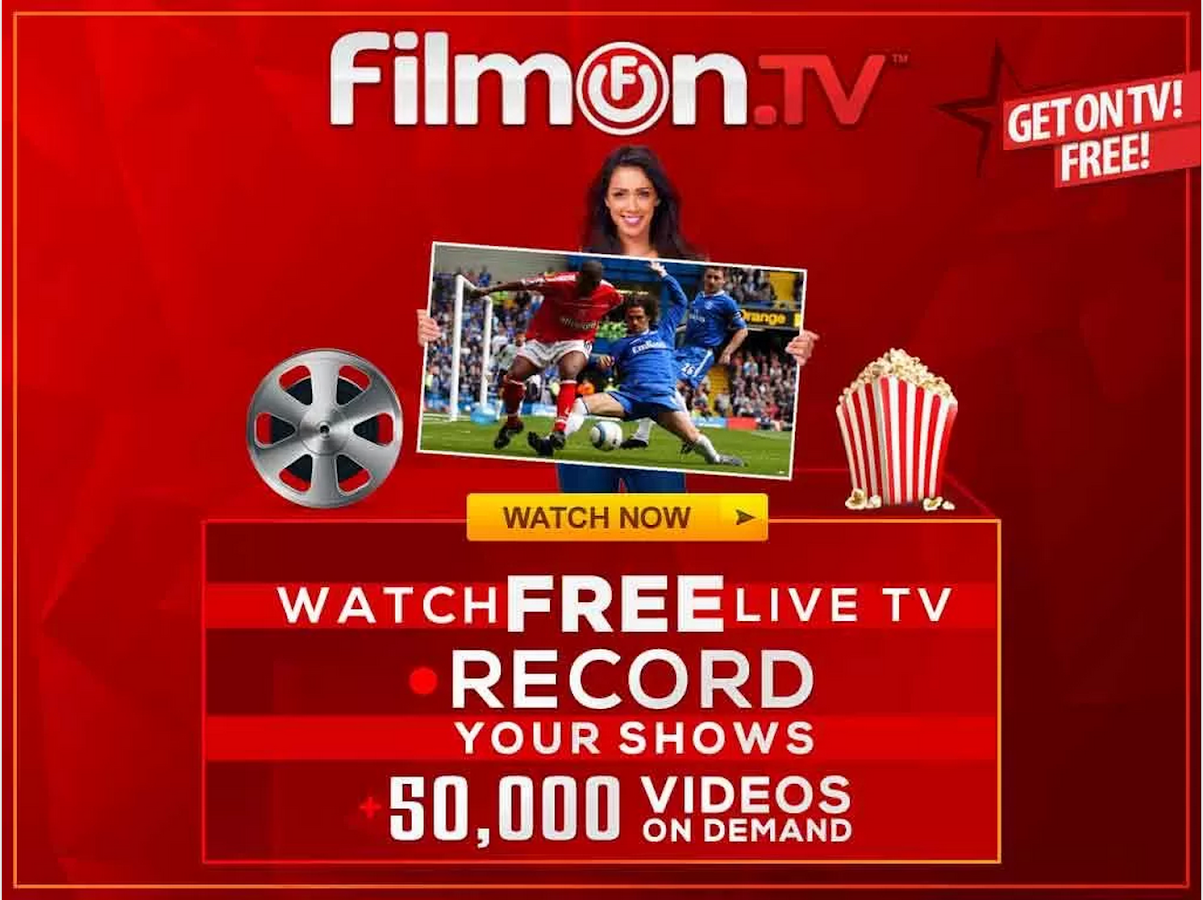 FilmOn Free LiveTV DLNA - screenshot