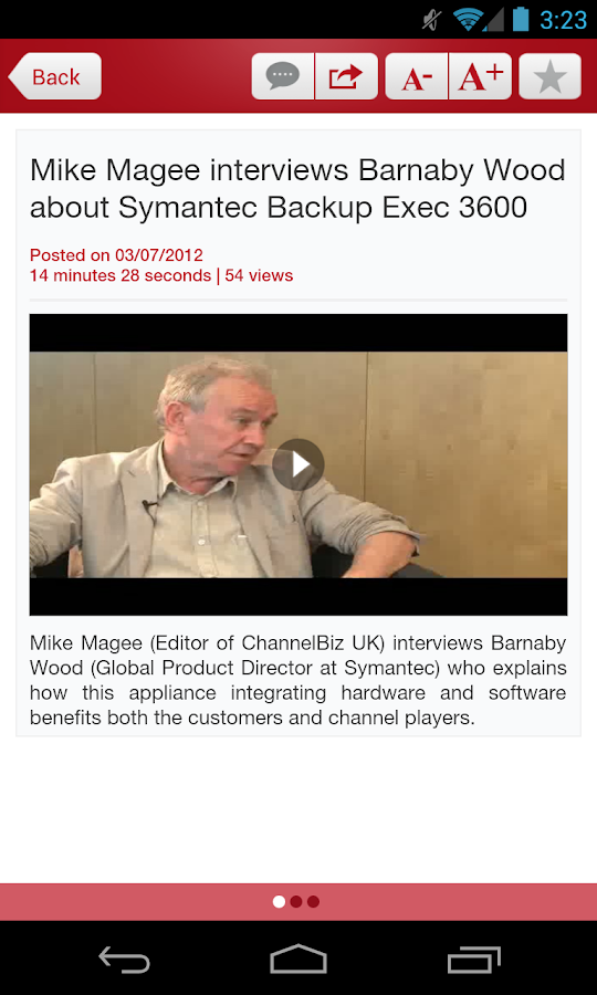 ChannelBiz.co.uk - screenshot