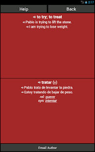 Spanish Basic Vocabulary - screenshot thumbnail