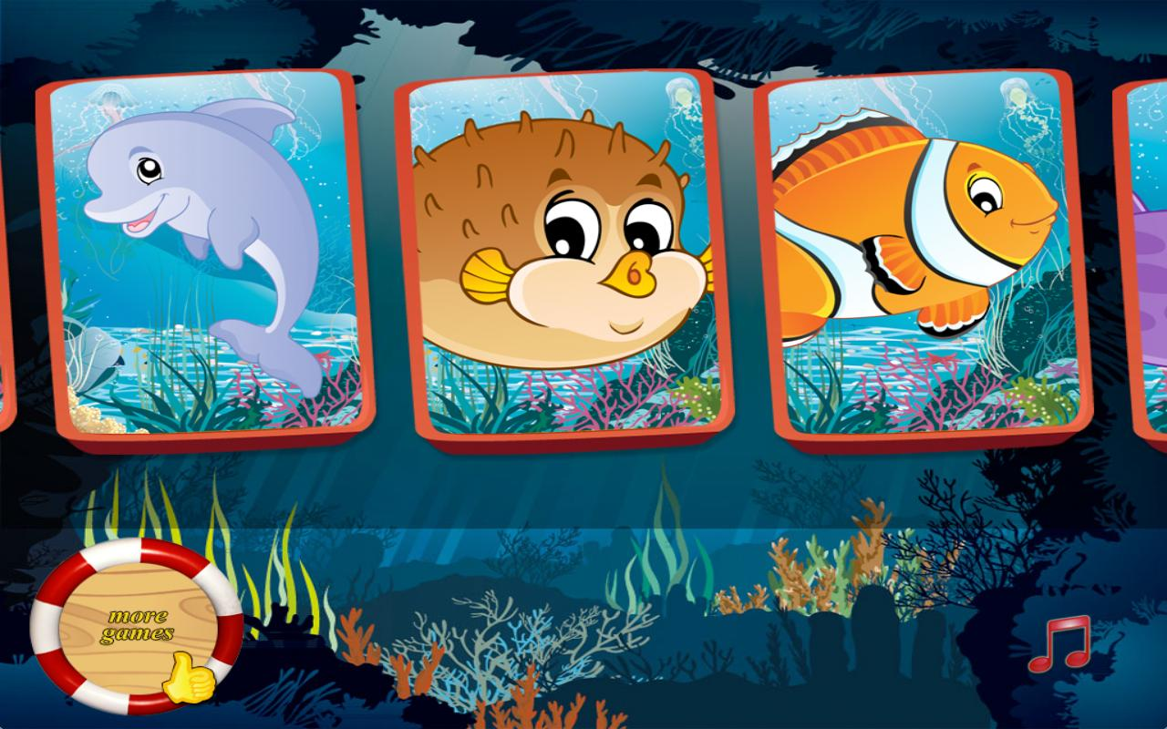 Free Toddler Games: Ocean - screenshot