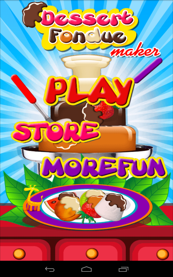 Dessert Fondue Maker - Cooking - screenshot