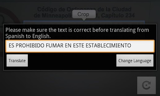 Camera Translator- screenshot thumbnail