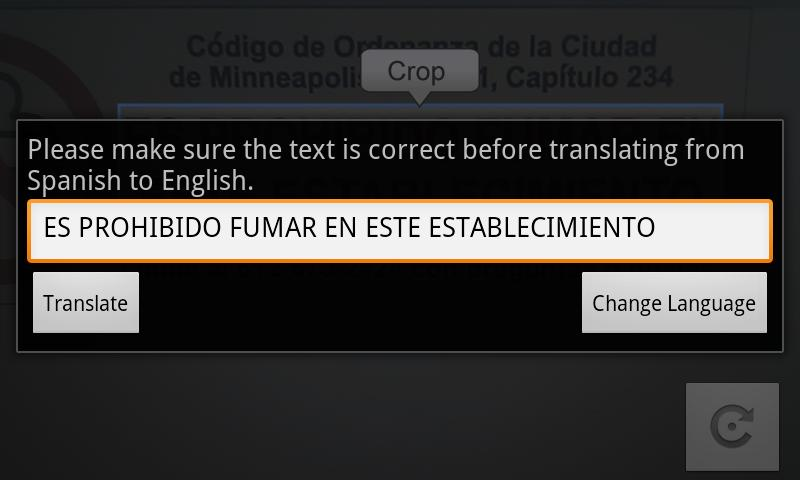 Camera Translator- screenshot