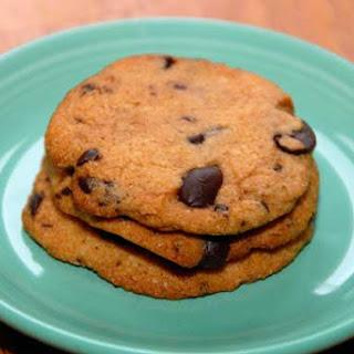 Gluten Free and Vegan Chocolate Chip Cookies.