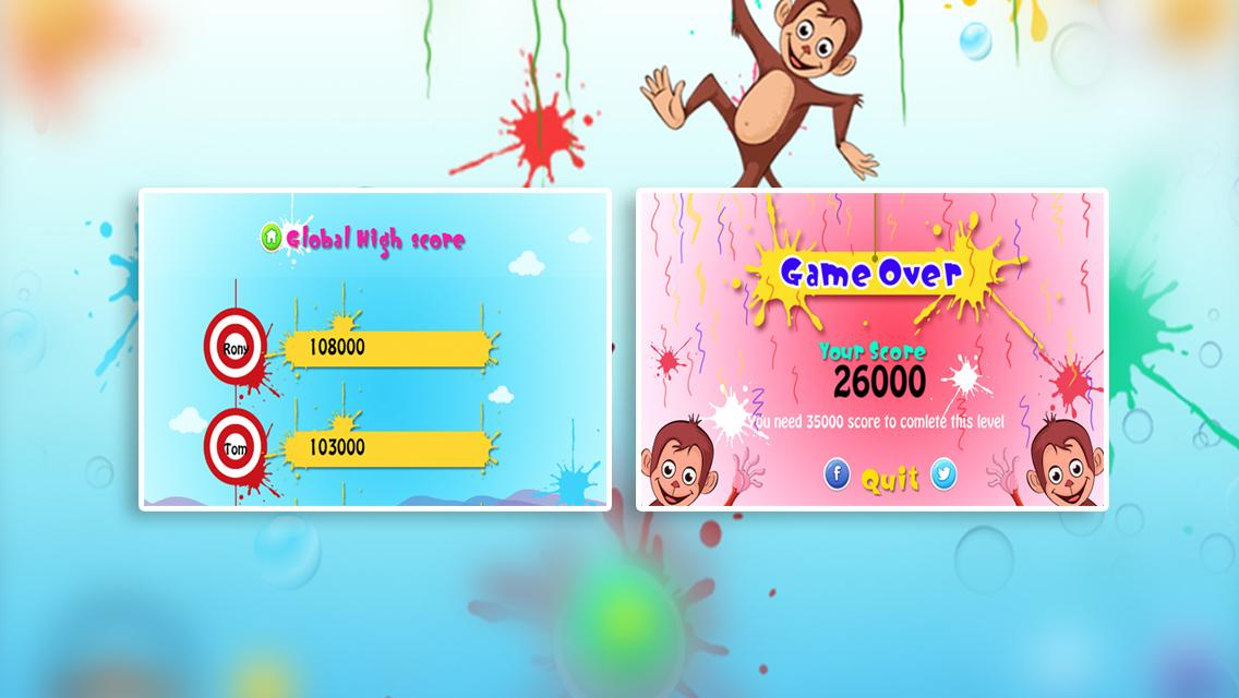 Dunking Monkey- screenshot