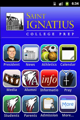 St. Ignatius College Prep App - screenshot