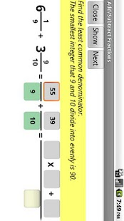 Learn Fractions- screenshot thumbnail