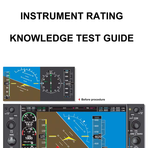 Instrument Rating Test Guide LOGO-APP點子