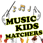 Music Kids Matchers