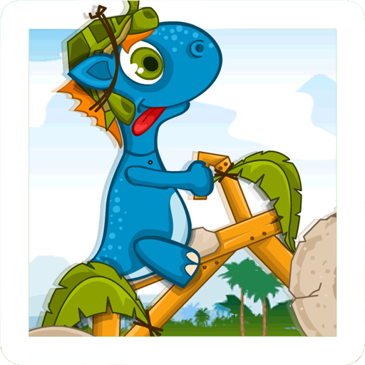 dino gizmo rush bike race
